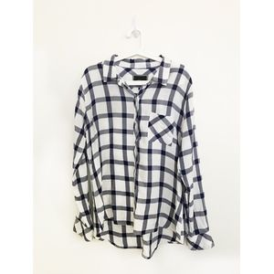 Rails button down plaid shirt - size Medium